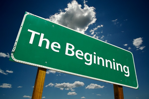 Bigstock The Beginning Road Sign 2198098