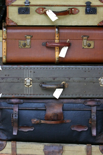 Bigstock Antique Luggage leaving home
